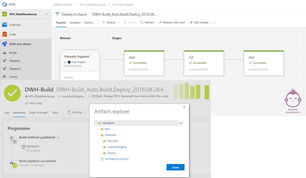 KidsFoundation Smallsteps Azure and VSTS setup