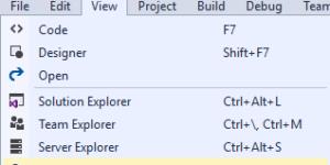 VS2017 Cloud Explorer