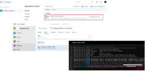DevOps Deploy Azure Analysis Service