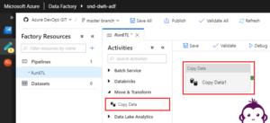 ADF Copy Data - Task