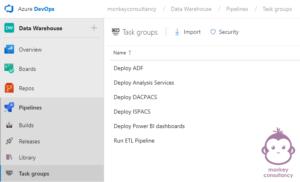 Azure DevOps - Task Groups