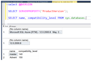 SQL Server Compatibility Level