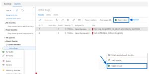 Azure DevOps extension - Azure DevOps Open in Excel
